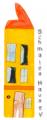 Logo schmales Haus mit weißem Hintergrund